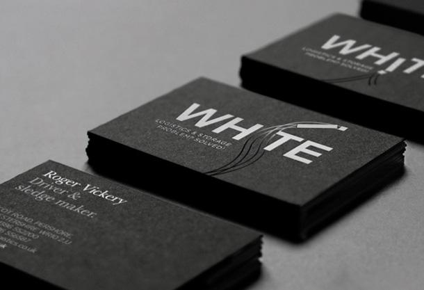 white bcard