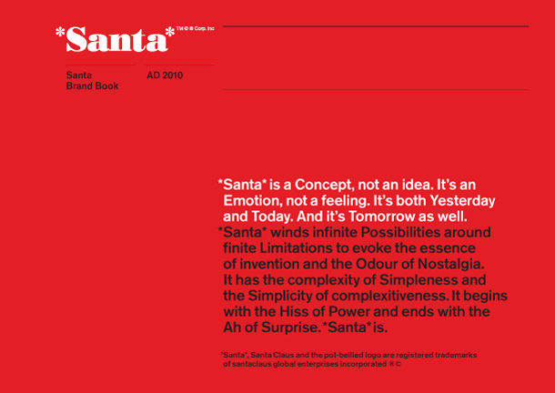 santa document