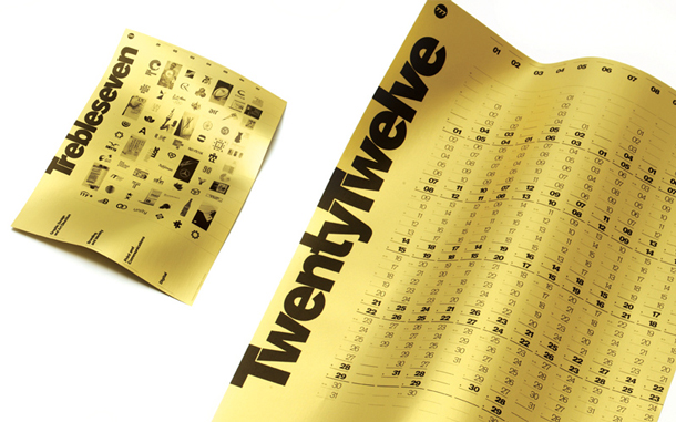 777 2012 Calendar