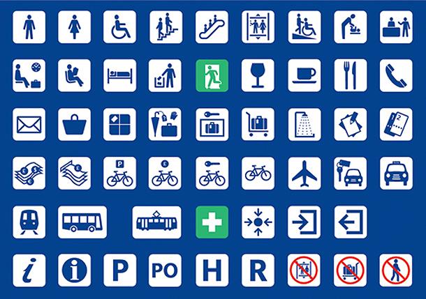 Rail icons