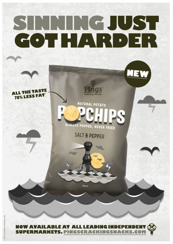 Pings Popchips Posters - Gill KAO FA